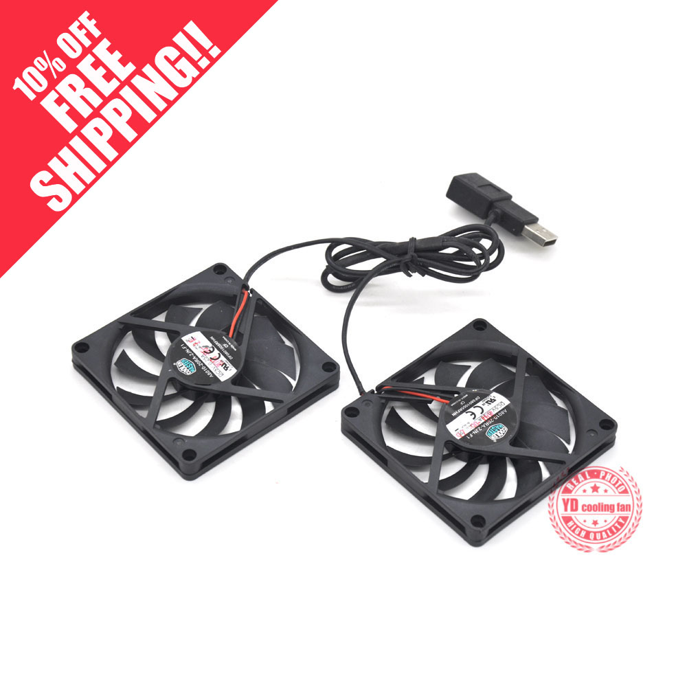 USED Cooler Master A8010-20RA-2JN-F1 5V 0.25A 8010 8CM Ultra-thin Silence Cooling Fan