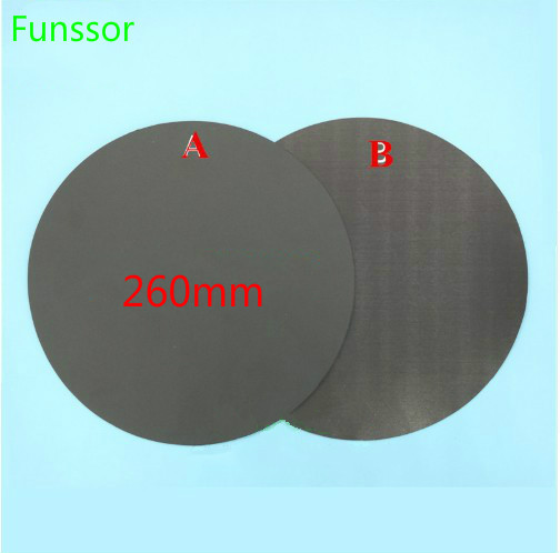 Cooperative 260mm Round Magnetic Adhesive Print Bed Tape Print Sticker Build Plate Tape Flexplate A+b For Diy Kossel/delta 3d Printer Parts 3d Printers & 3d Scanners