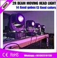 6 шт./лот MSD 2R 132 Вт Луч 13 видов цветов чип DMX движущийся головной свет/сценический свет