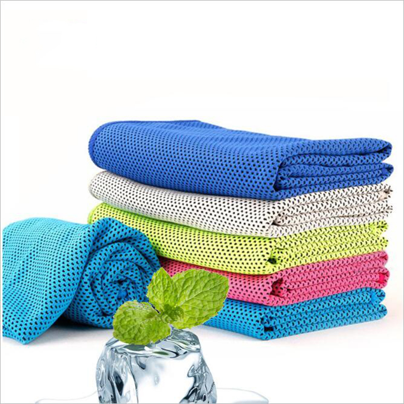IROYAL Cold Sports Towel Instant Cooling Ice Towel 1pc