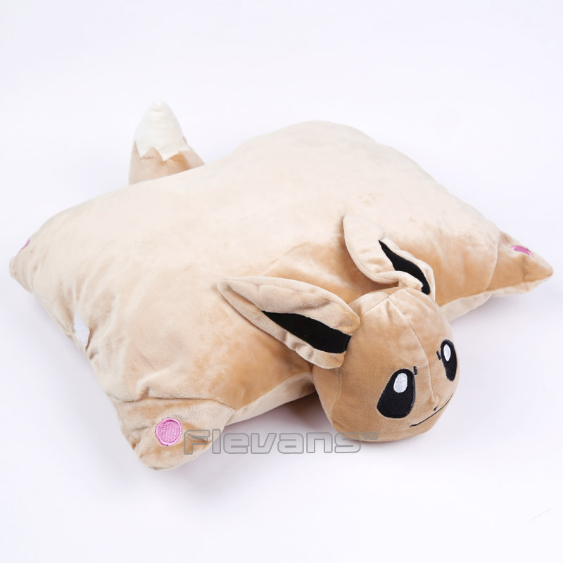 Pikachu Eevee Espeon Umbreon Charmander Charizard Cartoon Kawaii Cushion Soft Stuffed Animal Plush Doll Toys Home Garden Pillow