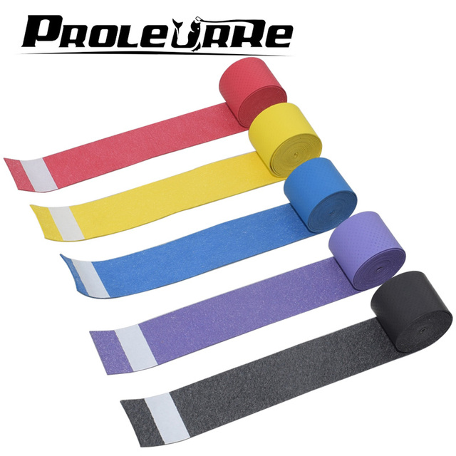 1Pcs Fishing Rod non-slip sponge Multi-purpose wrap sweat absorbing belt insulating sleeve fishing tackle EVA accessories 3