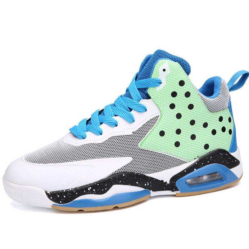 Original High Top Basketball Shoes Men Encapsulated Mens font b Sneakers b font Hard Wearing Sport