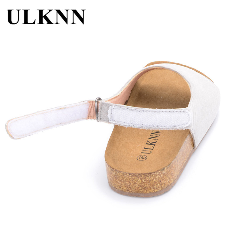 ULKNN Summer Beach Sandals Kids Boys Shoes For Girls Children Sandals Open-Toe Breathable Casual Shoes Toddler Baby School Shoe