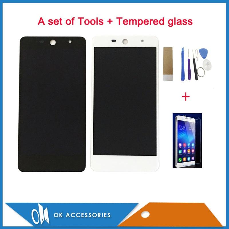 Colore Bianco nero Per Wileyfox Swift 2 Swift 2 Più Display LCD + Touch Screen Digitizer Assembly Con Kit 1 Pz/lotto