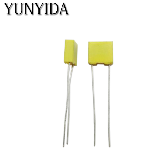 20 Pcs Polypropylene Safety Plastic Film 100V 1nF ~ 470nF 100nf 220nf 10nf 47nf 22nf 1nf 0.47uf 0.1uf Correction Capacitor