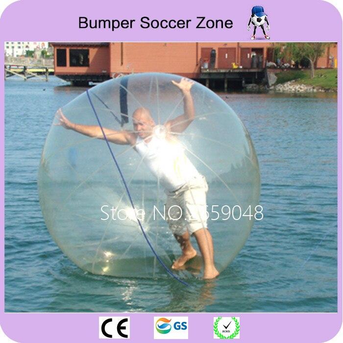 Livraison gratuite 2 m balle de Hamster gonflable boule de danse gonflable boule de marche de l'eau boule de Zorb avec piscine