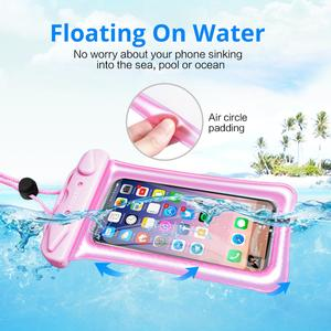 Водонепроницаемый чехол для телефона, подводный чехол для телефона IPX8, сухая сумка, поплавок, чехол для хранения, сенсорные чехлы для телефонов Android
