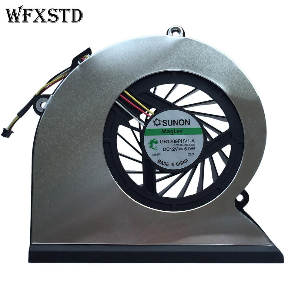 New original CPU Cooling Fan For HP TouchSmart 310-1125Y 310 TouchSmart310 / GB1209PHV1-A CPU Cooler Heatsink Cooling Fan original fan ac220 240v 6c 230absl cooling fan