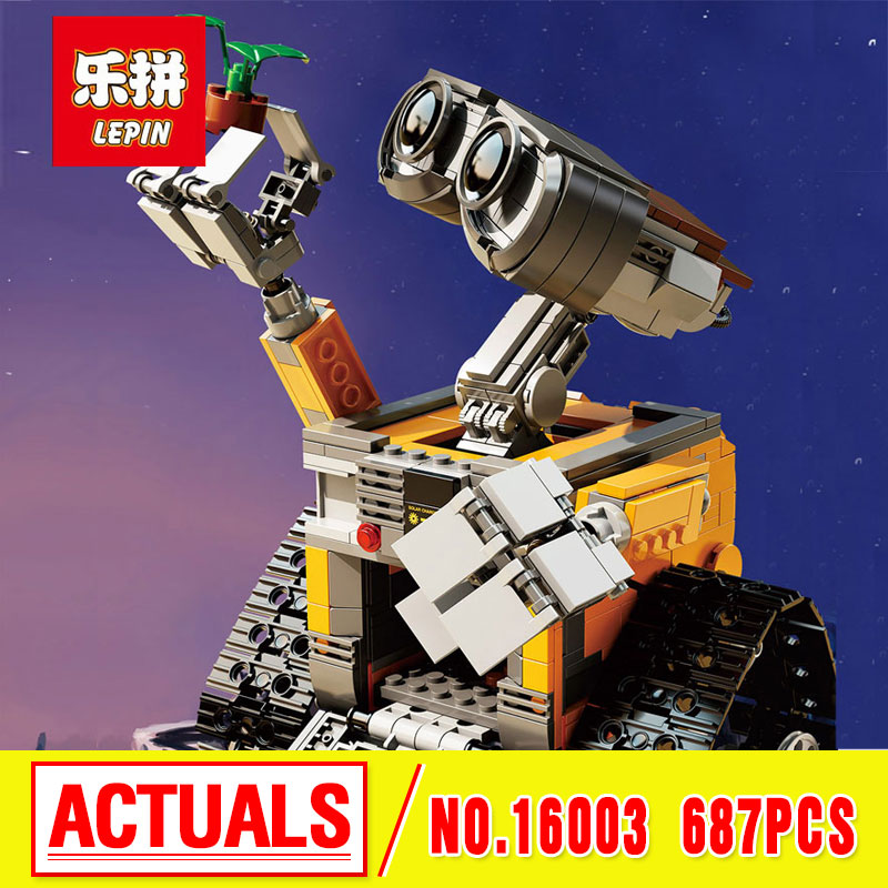 2016 New GonLeI 39023 687Pcs Idea Robot WALLE font b Model b font font b Building