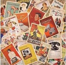32 шт/лот классические известные постеры в винтажном стиле набор