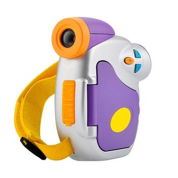 Мини-детский цифровой Камера высокой четкости 5.0MP 1,44 дюймов COMS 1.3MP 4X зум детей видеокамера Цвет Дисплей игрушечные камеры игрушки