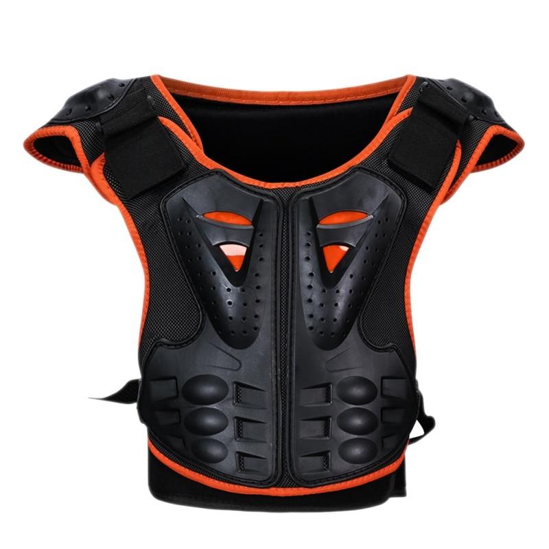 Herzhaft Neue Kinder Roller Skateboard Eislaufen Zurück Brust Protector Reflektierende Rüstung Outdoor Kinder Sport Atmungsaktive Kleidung Ausreichende Versorgung