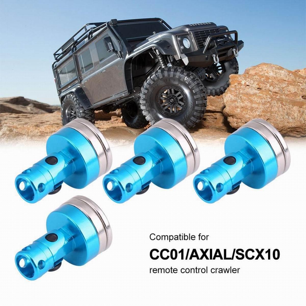Hot 4pcs Axial SCX10 Parts Metal Body Post SCX10-15 For 1//10 Rock Crawler RC Car