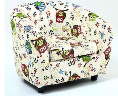 Small plush sofa. Baby stool. Children's birthday present
