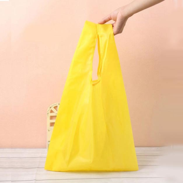 3357cm eco friendly u design color polyester shopping bag foldable assorted storage bags household china eco friendly modern office