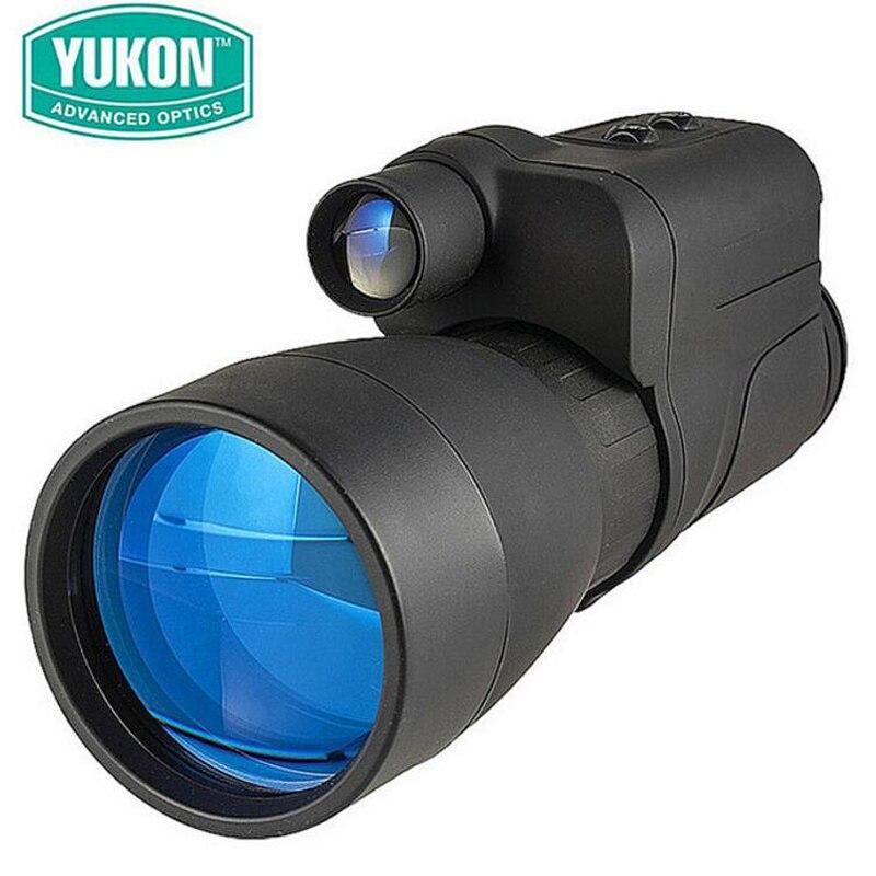 YUKON Patrol Professional Full Dark Gen1 IR 5X60 Night Vision Goggles Powerful Monocular Infrared Telescope Optics instrument optical instrument