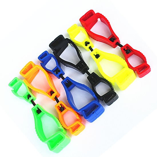 10pcs glove holder plastic working Glove Clip plastic AT-1 type Work clamp safety work gloves clips Guard Labor supplies china brand high quality plastic glove clip protective holder safety work gloves guard for worker distribution at 4 jqb