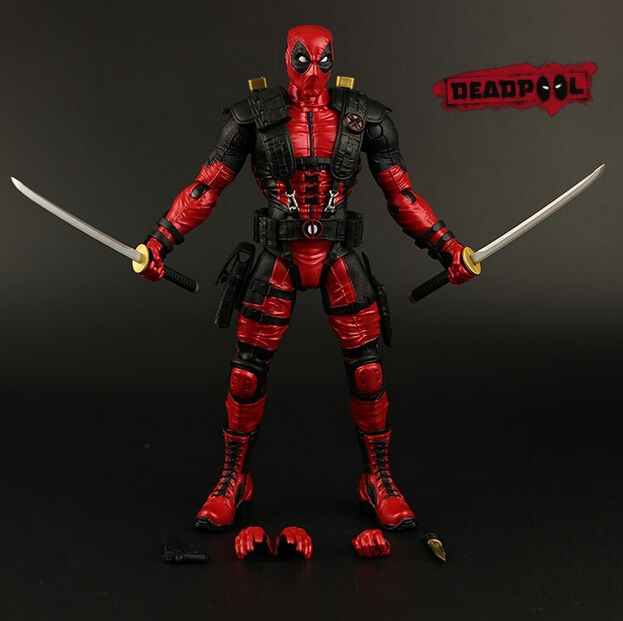 Hot NEW 26cm Super hero X-Men Deadpool Action Figure toys doll Christmas gift new hot 22cm avengers super hero hulk movable action figure toys christmas gift doll with box