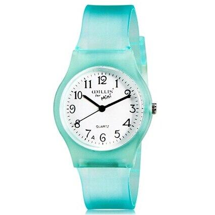 WILLIS Brand Quartz Watch Women Elegant Round Dial Matte Green Strap Wrist Watches Life Waterproof Clock For Sport PENGNATATE