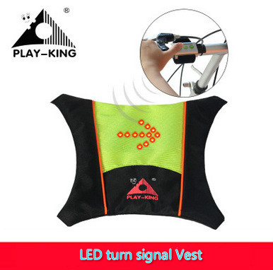 New LED turn signal outdoor riding bag men women mountain bike bicycle breathable sports equipment safety night riding biking