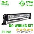 "Free Shipping 24 volt car light IP67 waterproof  combo beam 22"" 120w off road LED light bar 12 volt"