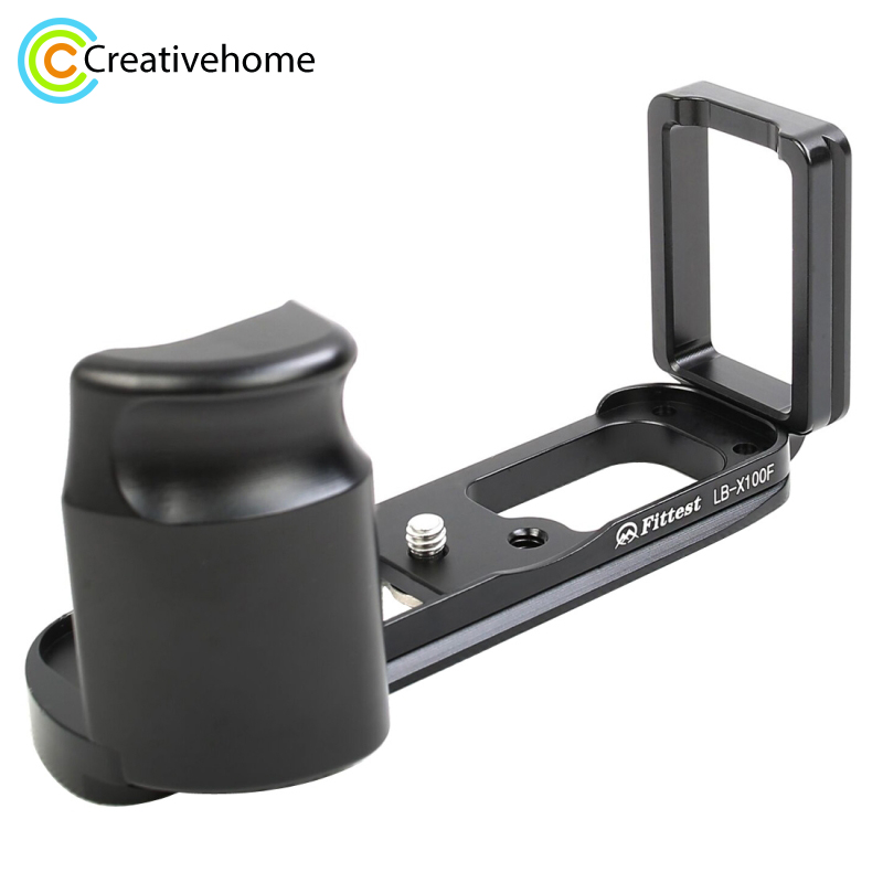 FITTEST For FUJI X100F Quick Release L Plate Bracket Vertical Shoot Quick Release L Plate Bracket Base Holder For FUJIFILM X100F quick release l plate vertical bracket holder for canon 7d body arca compatible