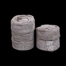 5/20/100 шт рассчитывать 30 мм кокосовый торф гранулы семян начиная Вилки стартер роста семян поддон питательных веществ вещество средней блоки грунта под рассаду
