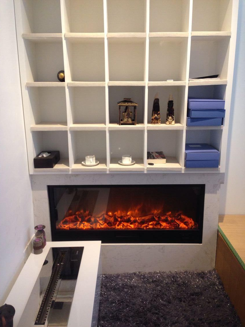 Quality craft electric fireplace - 1200 520 200mm Quality Craft Artificial Electric Fireplace Insert