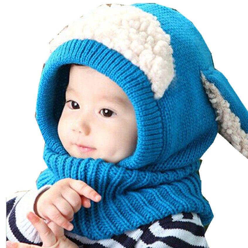 2017 # Winter Baby Kids Hat for girl boy Cap Hot Toddler Beanies Coif Kintted Woolen Scarves Warm tmall Newborn