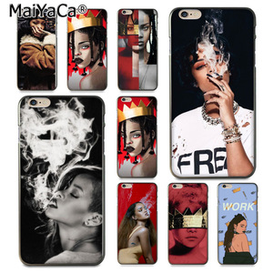 MaiYaCa Rihanna Anti Travail Drake Coque Shell Phone case for Apple iPhone 8plus 8 7plus 7 6 6S Plus X 5 5S SE 5C Cover(China)