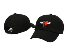 Newest Kanye West Heart Break Album Cap Trend Hip Hop Dad Hat Snapback Kanye Fashion King For Men Women Cotton Baseball Cap