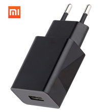 100% Original XIAOMI Charger Mobile Phone Charger 2.5A Quick Charge USB Charger EU Plug Wall Travel Adapter for Xiaomi Samsung original genuine xiaomi mikey quick shortcut button 3 5mm earphone plug blue