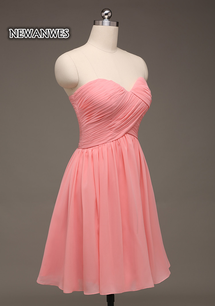 Coral Pink Short Party Dress Off Shoulder Cocktail Dress Bridesmaid Dress  Cheap Girls Dress-in Bridesmaid Dresses from Weddings   Events on  Aliexpress.com ... bd94eef874ad