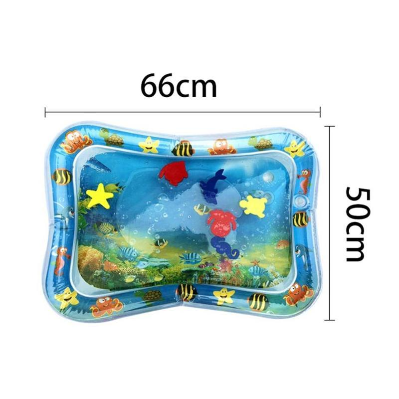 2020 Creative Dual Use Toys Baby Inflatable Patted Pad Baby Inflatable Crawling Water Cushion Water Play Mat for Infants