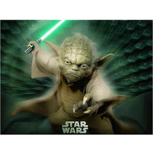 Diamond Painting Star Wars 5d Diy Yoda Master Full Embroidery For Kids Handmade