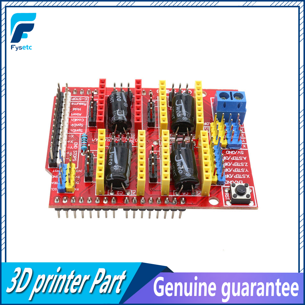 New 3D Printer parts A4988 Driver CNC Shield Expansion Board for Arduino V3 Engraver 3D Printer