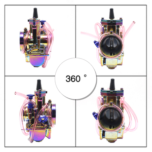 Image 4 - Alconstar  28 30 32 34mm New Colorful Motorcycle Carburetor Carburador with Power Jet 2T/4T Scooter ATV UTV Off Road Racing