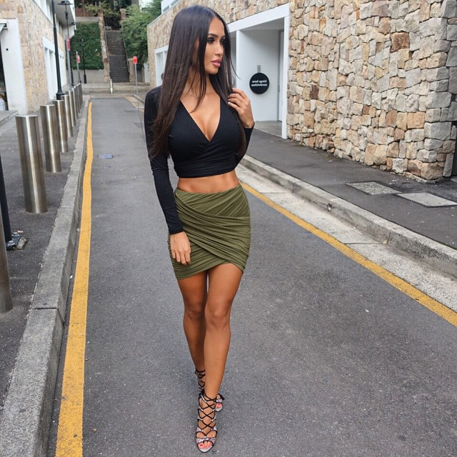 Sexy Women Formal Stretch Short Skirts Bodycon Mini Skirt Pencil ...
