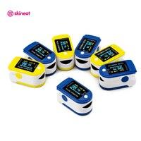 Skineat 2 Renk Mevcut Dijital Parmak Pulse Oksimetre Taşınabilir Parmak Kan Oksijen Pulse Oksimetre Aile Sağlığı Için Bakım