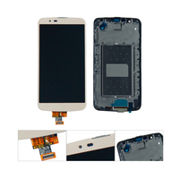 For LG K10 LTE K420N K430DS K430DSF LCD Touch Screen Sensor Glass Lens Digitizer Panel Assembly With Frame