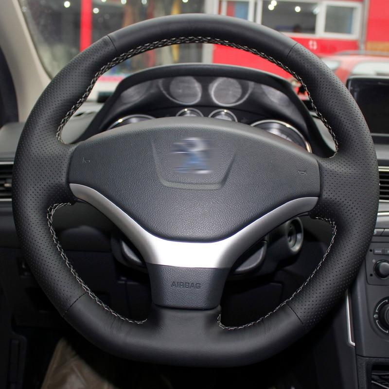 Peugeot 2012-2014 308 2013 Peugeot 408 үшін BANNIS қара - Автокөліктің ішкі керек-жарақтары - фото 4