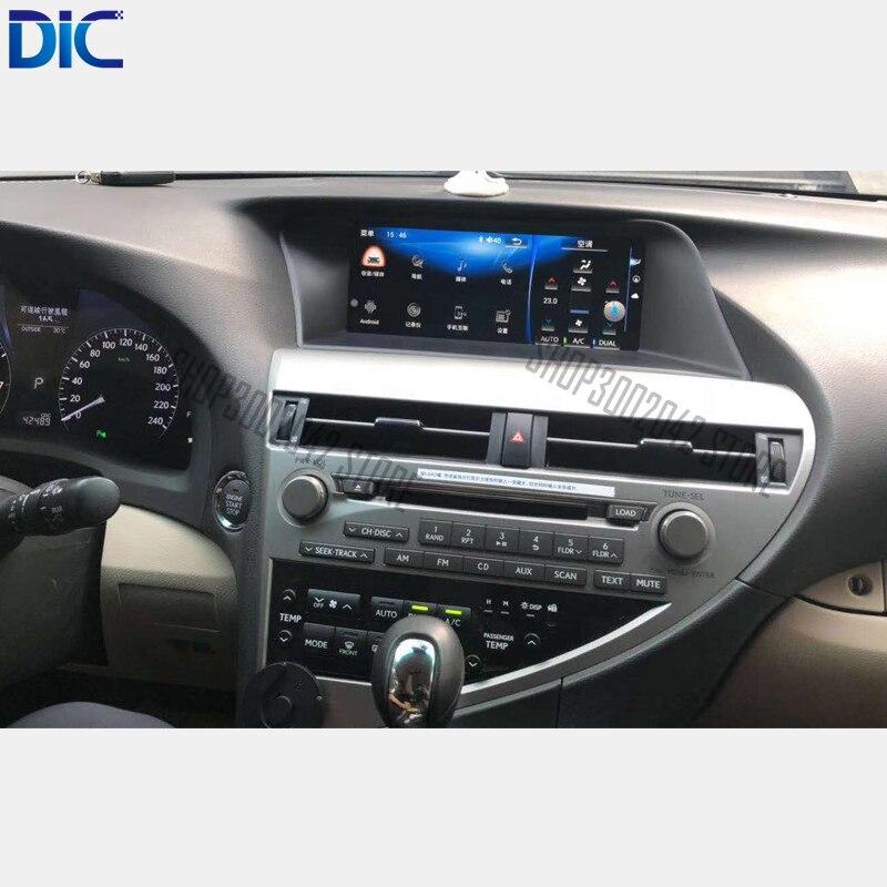 DLC Android система навигации gps плеер Видео Авторадио рулевое колесо радио автомобиль Стайлинг для Lexus 2009-2014 RX 270 350