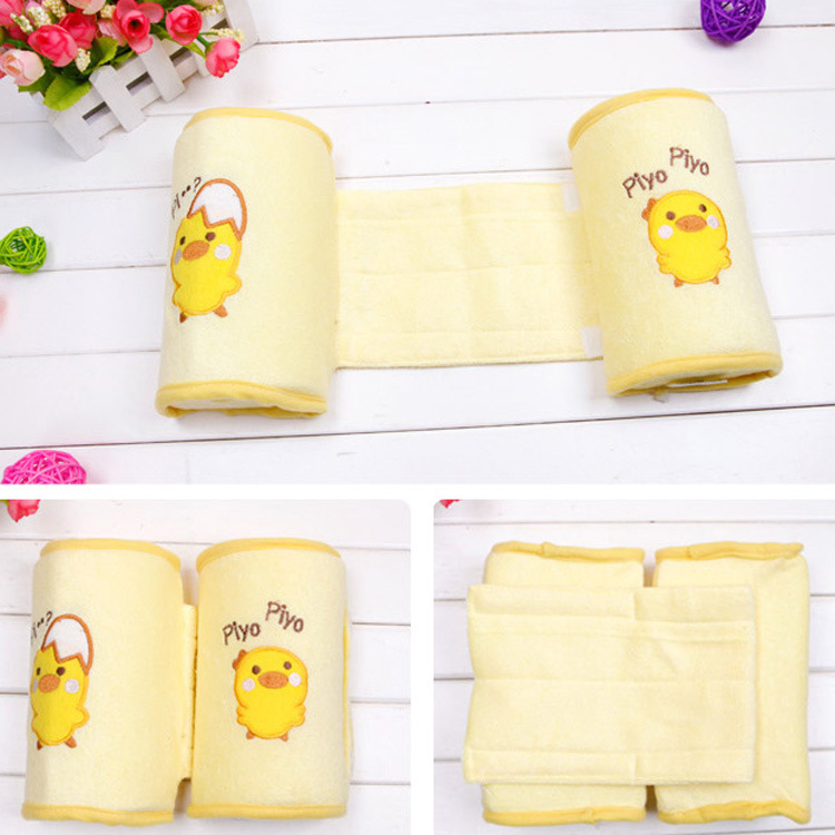 Infant Baby Safe Comfortable Cotton Anti Roll Pillow Lovely Baby Infant Toddler Safe Sleep Head Positioner Anti-rollover Pillow