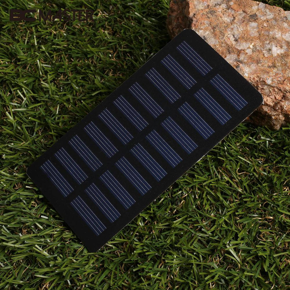 Durable Solar Panel Solar Cells Photovoltaic Panels Battery Charger Board Module 1.2W Polysilicon 112X58mm