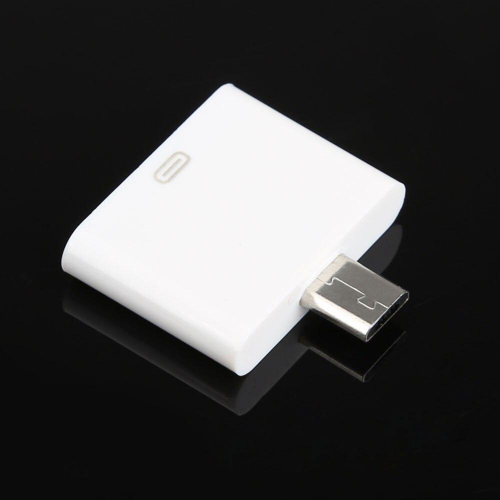 Горячие Продажи Высокое Качество Изменение Mtchine Аксессуары 30pin Female Dock для Micro USB 5pin Мужской Адаптер Разъем для iPhone4 4S BS