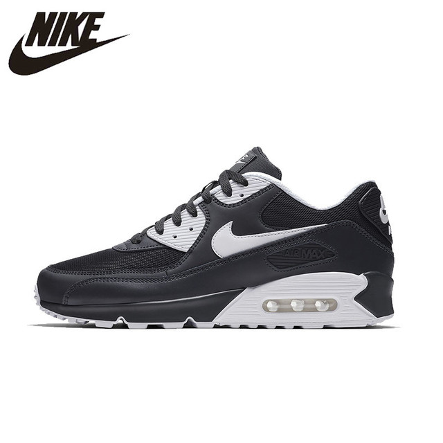 online retailer fdd53 a8c45 NIKE AIR MAX 90 ESSENTIAL Original Mens Running Shoes Mesh Breathable  Footwear Super Light Sneakers For Men Shoes 537384-089