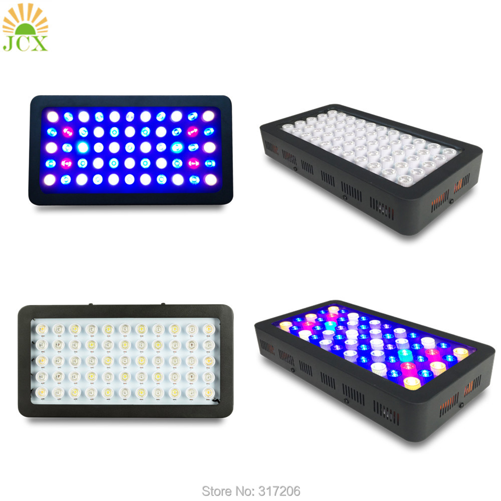 Dimmble Led Aquarium Lights Full Spectrum with X Lens Optical for Marine Coral Plants Growth