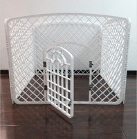 Wholesale Pet products 100*100*77(Height)cm dog fences Medium sized dogs home kennel wholesale pet product