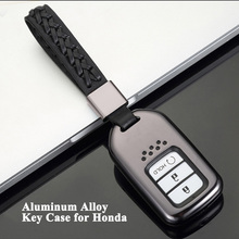 1pc Car Key Case Styling Cover Shell Protector Storage Bag Accessories for Honda CIVIC Accord CR-V Insight HR-V Odyssey